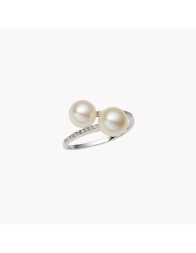 Anello Contrariè perla