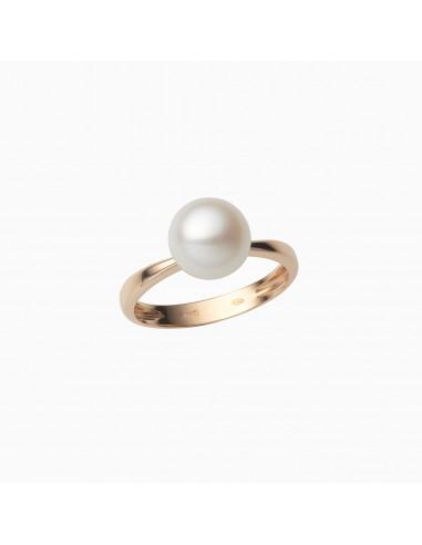 Anello perla Eternity
