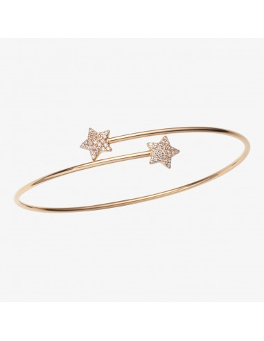 Bracciale MyStar bangle in oro e pavé